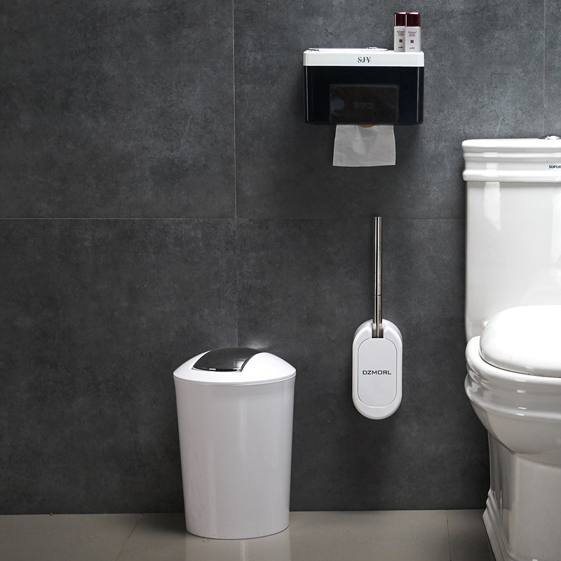 Strange Us 55 69 45 Off Creative European Toilet Brush Set Walls Mount Toilet Brush Holder With Dust Bin And Paper Holder For Bathroom Accessories Set In Pdpeps Interior Chair Design Pdpepsorg