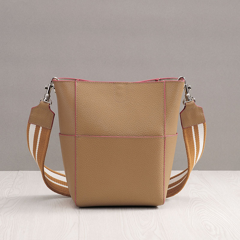 где купить Bolsa Feminina 2018 Large Bucket Luxury Handbags Women Bags Designer Cotton Knit Strap Shoulder Bags Split Leather Crossbody Bag по лучшей цене