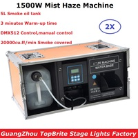 1500 w Sis Pus Makinesi 5L Yağ Tankı Duman Makinesi DMX512/Manuel Kontrol Profesyonel Sahne Makinesi DJ/Bar /ev Sisleyici Sahne Aydınlatması Efekti    -