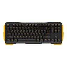 87 Teclas de teclado para juegos Mecánicos con Gateron Interruptor de Doble Inyección de color tecla clave Teclas Multimedia Portátil Con Cable USB Teclado de la PC
