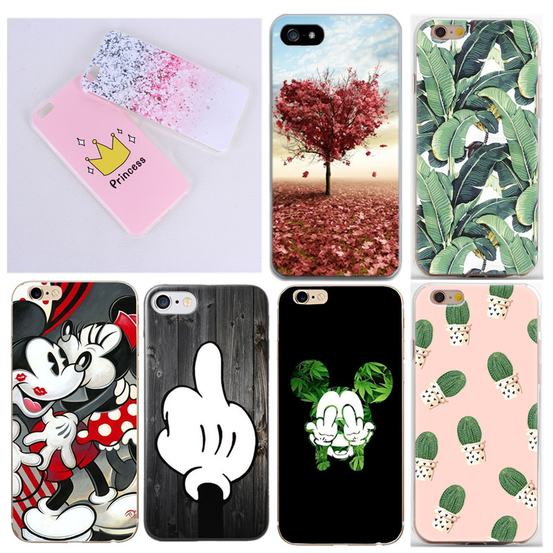 Phone Cases Shell For iPhone 4 4S 5 5S SE 5C 6 6S Case Cover Soft Mobile Phone Bags & Case For iphone4 4S 5S 5 SE 5C 6 6S