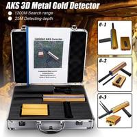 Protable Long Range AKS Gold Diamond Detector Metal Detectors Gold Detector AKS 3D Metal Detector Machinery