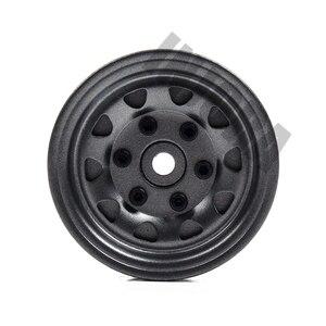 Image 5 - 4PCS Metal Beadlock 1.9 Wheel Rim for 1/10 RC Rock Crawler Traxxas TRX 4 TRX4 D90 D110 TF2 Axial SCX10 90046 AXI03007