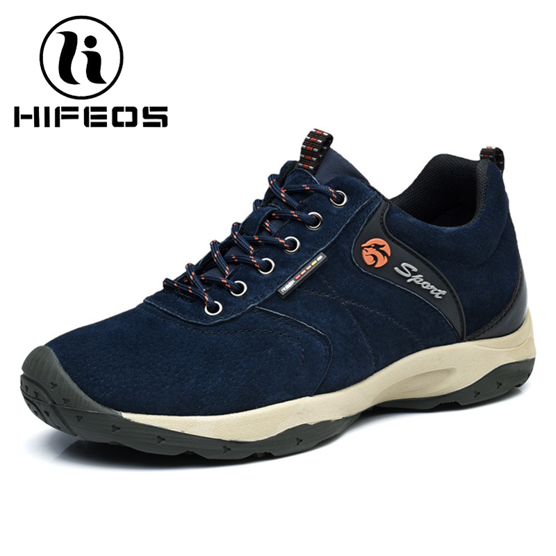 HIFEOS outdoor hiking shoes anti-slip boots lace invisible increased men's shoes comfortable breathable sneakers climing M065 hifeos outdoor hiking shoes anti slip boots lace invisible increased men s shoes comfortable breathable sneakers climing m065