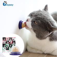 Healthy Cat Snacks Catnip Candy Licking Solid Nutrition Gel Energy Ball for Cats Kittens Increase Drinking Water Help Digestion
