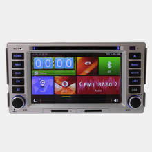 Car DVD Player Steering Wheel Control GPS Bluetooth For Hyundai Santa fe With RDS Multimedia Touch Screen Digital Free Map Video