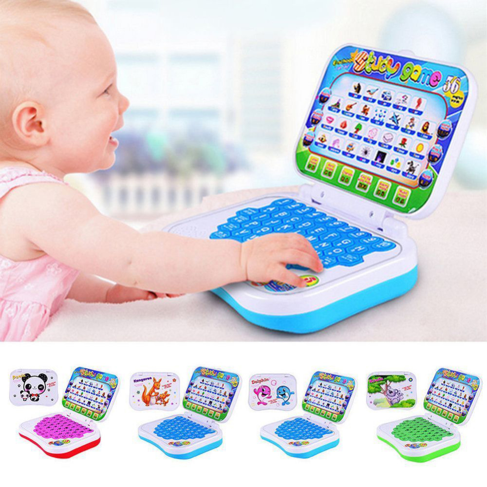 Computer Toy Baby Children Educational Learning Machine English Version Electronic Kids  ...