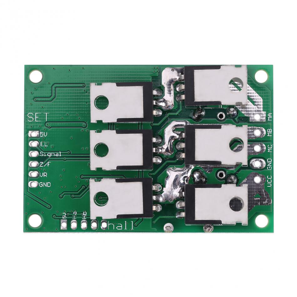 Image 5 - 36V  72V 700W Brushless Motor Controller Hall Balanced Car Driver Board Motor Speed Regulator regulateur de vitesse voiture-in Motor Controller from Home Improvement