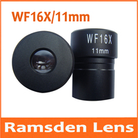 WF16X 11mm Optische Sichtfeld Ramsden Biologische Mikroskop Okular mit Montage Größe 23 2mm für Augenmikroskops System|Mikroskope|Werkzeug -