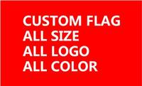 custom flag 200*200CM polyester flag decoration banner