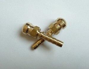 Image 3 - 100% 고압 세척기 호스 용 구리 하 수구 노즐, 구부러진 청소 용 마우스 헤드 gully 배수관