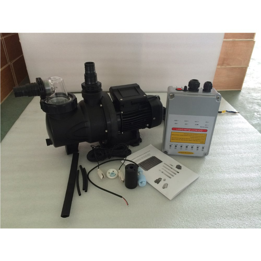 Buy 250w Solar Dc Swimming Pool Pump