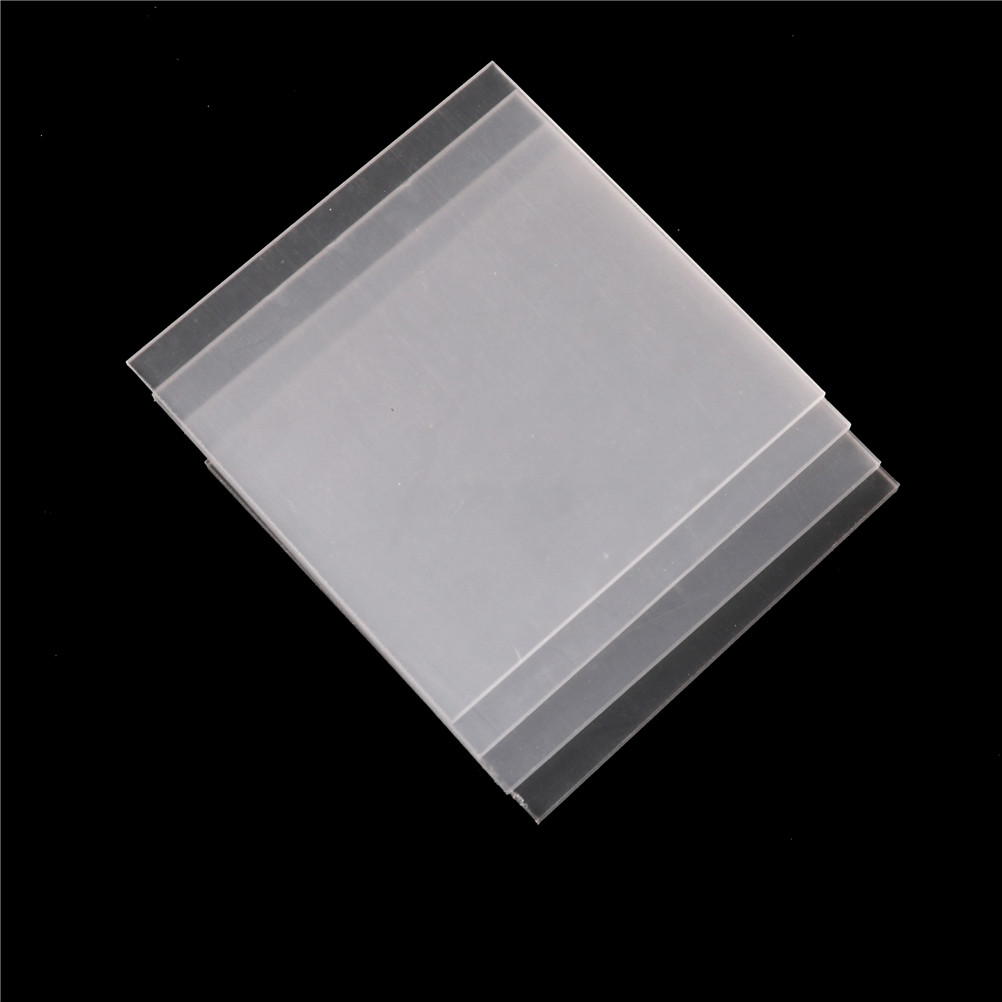 2-5mm thickness 1pcs Clear Acrylic Perspex Sheet Cut Plastic Transparent Board Perspex Panel