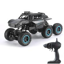 1:12 Super Large 6-Wheel Drive RC Off-road Car Strong Power Magnetic Brushless Motor Remote Control Monster Trucks Model