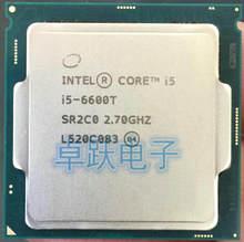 Intel işlemci I5 6600T I5-6600T LGA1151 14 nanometre dört çekirdekli % 100% düzgün çalışan masaüstü işlemci ücretsiz kargo