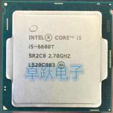 Intel Processor Properly Nanometers I5 6600t LGA1151 Quad-Core Desktop 14 100%Working