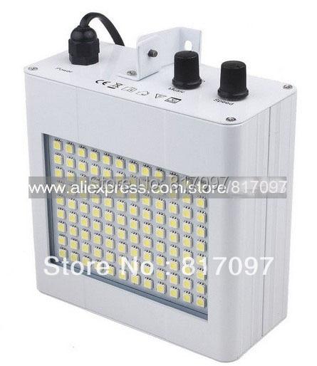 Nuevo luz Strobo SMD5050 blanco luces discoteca DJ etapa iluminacion DJ Partido