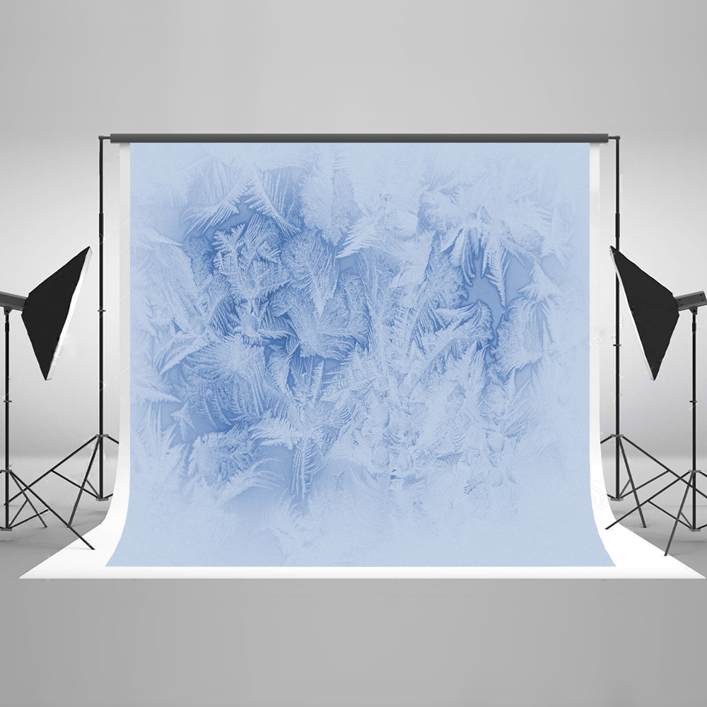 Kate 10x10ft Snow Photo Background Photography Backdrop Ice Flower Newborn Photography Backdrop Cotton Washable Background kate photo background scenery