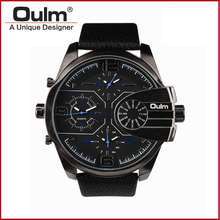 OULM Gold Mechanical watch Men Sport Skeleton Winner Watch Rosefiel Classic Leather Watches Clock Sport Montre Femme Nomo Whach