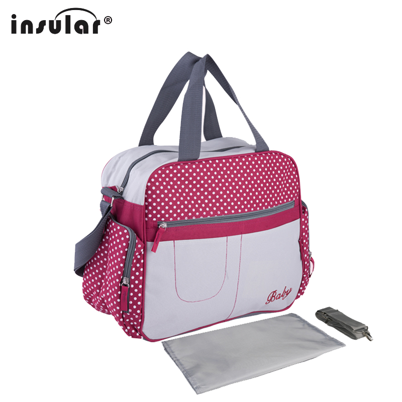 Good Quality Waterproof  Mother Diaper Bag For Mom Messenger Tote Hobos Multifunction Maternity Bag For  Baby Nappy Bag Hot Sale