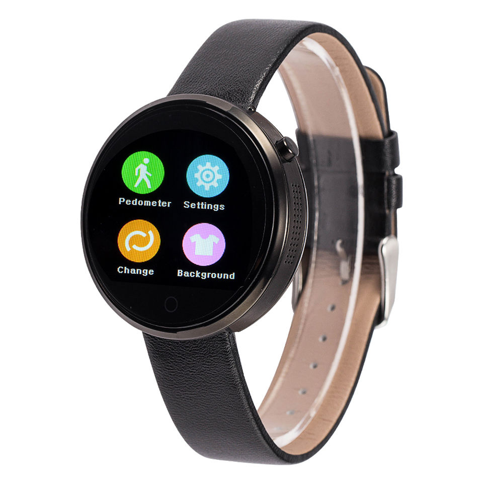 Interchangeable Bands DM360 Bluetooth Smart Watch Heart Rate Monitoring Wristwatch Wrist For Apple IOS Android Phone