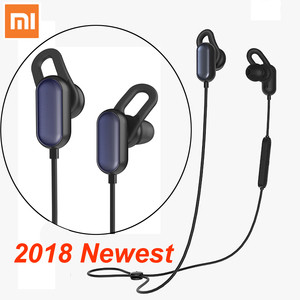 Image 1 - Xiaomi Sport Bluetooth Kopfhörer Jugend version 2018 Neueste Headset Mit Mic Sport Drahtlose Ohrhörer Bluetooth 4,1 Wasserdicht