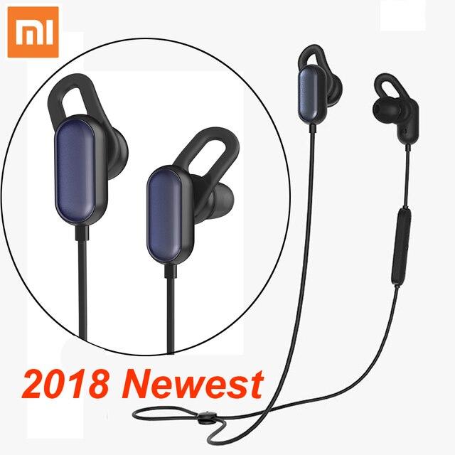 Xiaomi Sport Bluetooth Kopfhörer Jugend version 2018 Neueste Headset Mit Mic Sport Drahtlose Ohrhörer Bluetooth 4,1 Wasserdicht