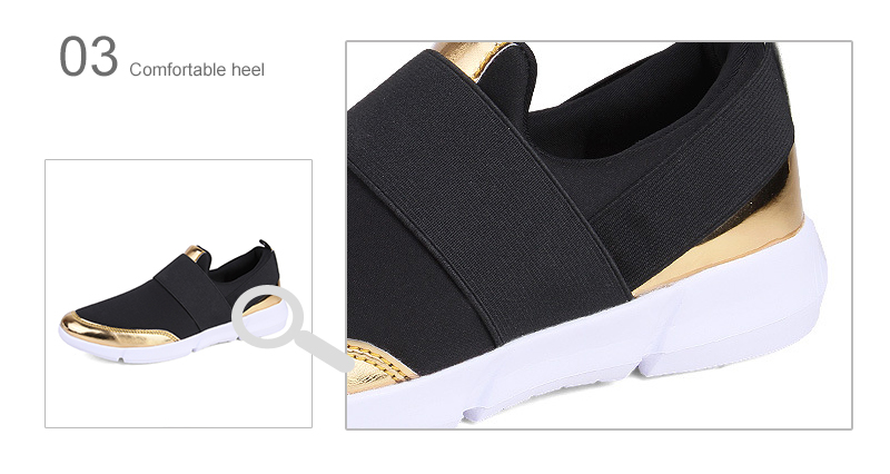 HTB1uudVB8yWBuNkSmFPq6xguVXad Spring Autumn Women Slip On Loafers Ladies Casual Comfortable Flats Female Breathable Stretch Cloth Shoes Fashion Zapatillas