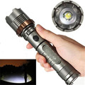 Tactical led Flashlamp 2000Lm CREE XM-L T6 LED Flashlight Torch Zoomable Flash light by 18650 battery For Camping