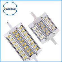 R7S LED Lamp SMD5730 15W 25W 30W R7S 78mm 118mm 135mm LED