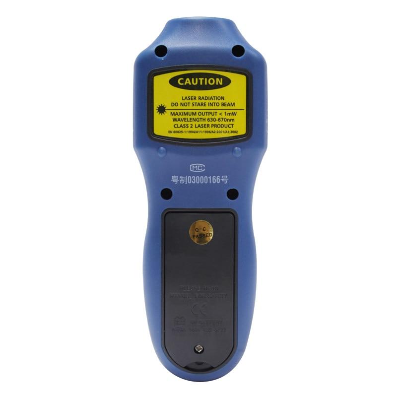 Tachymètres numériques LCD RPM mesure de la vitesse de Test des objets rotatifs - 5