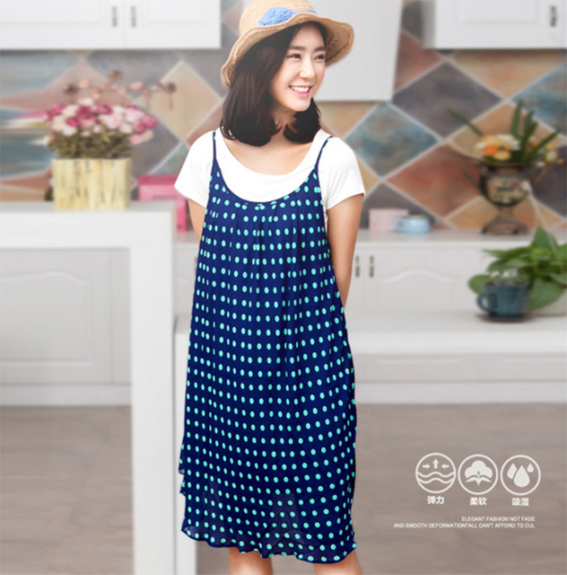 b6d311269ad Free Shipping Cute Pregnant Dress Print Clothes For Pregnant Women  Knee-length Maternity Clothes Boat