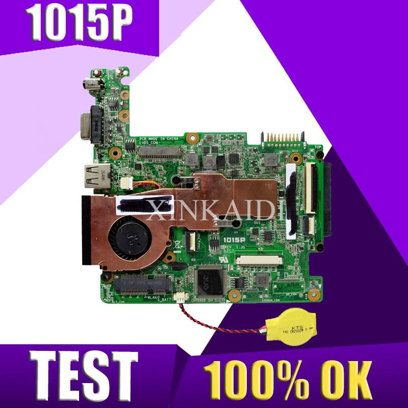 XinKaidi  EEE PC 1015P Laptop motherboard for ASUS 1015P 1015 Test original mainboard