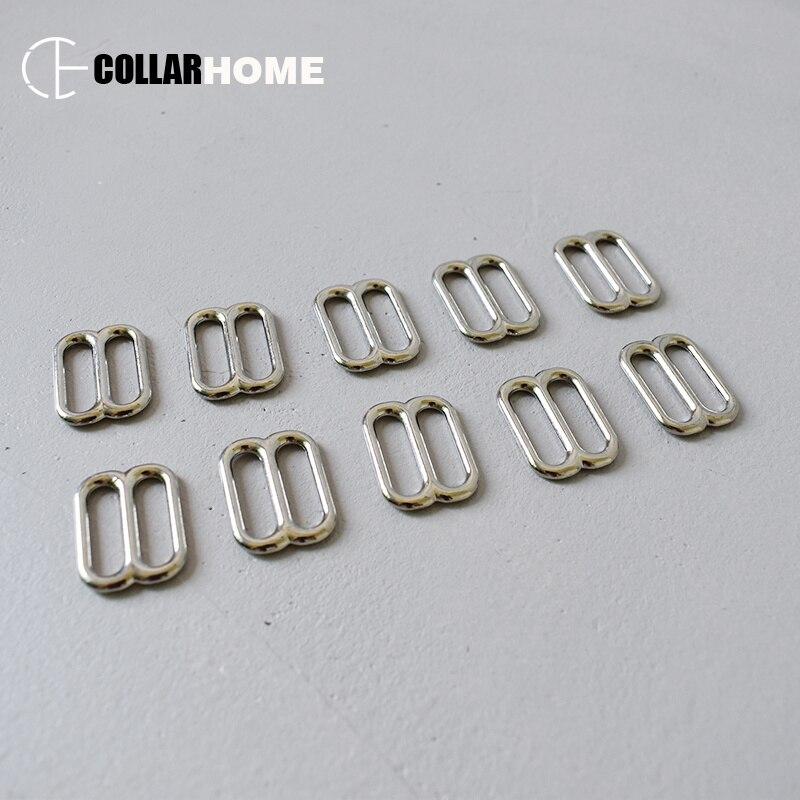 Coulissant Barre Boucle 25 Mm 2 Pcs Plaqué Sangle Nickel sangles colliers métal Sacs