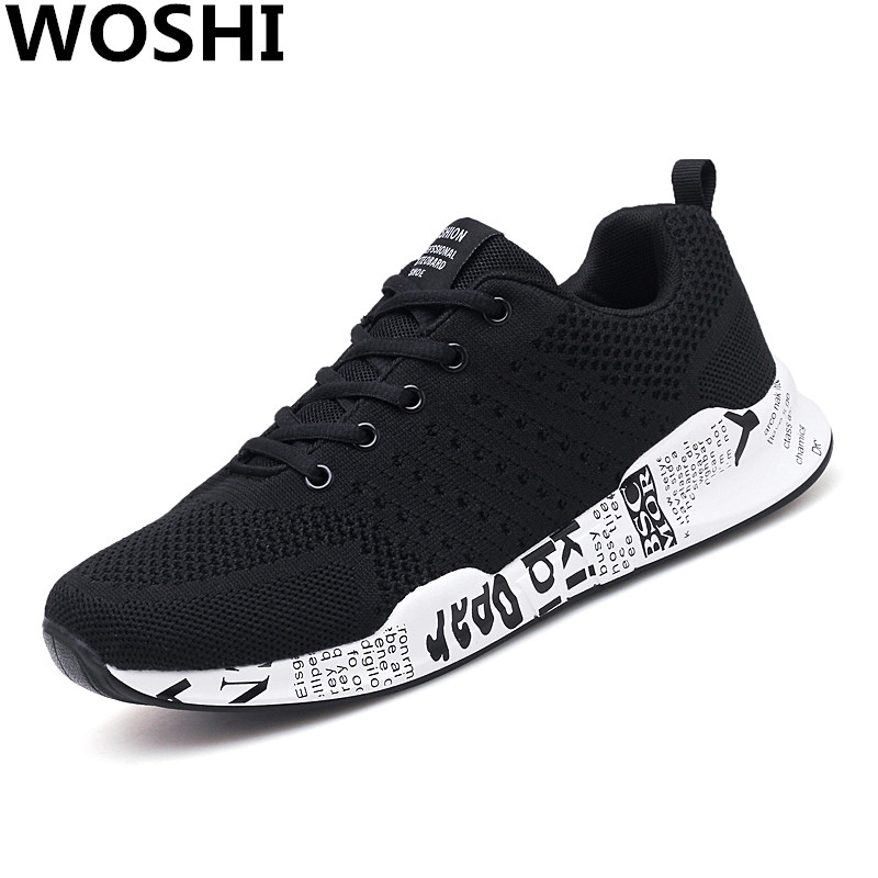 Summer outdoor men Sneakers Outdoor Breathable Running sports Shoes men Lightweight comfortable air mesh running Sneakers w5