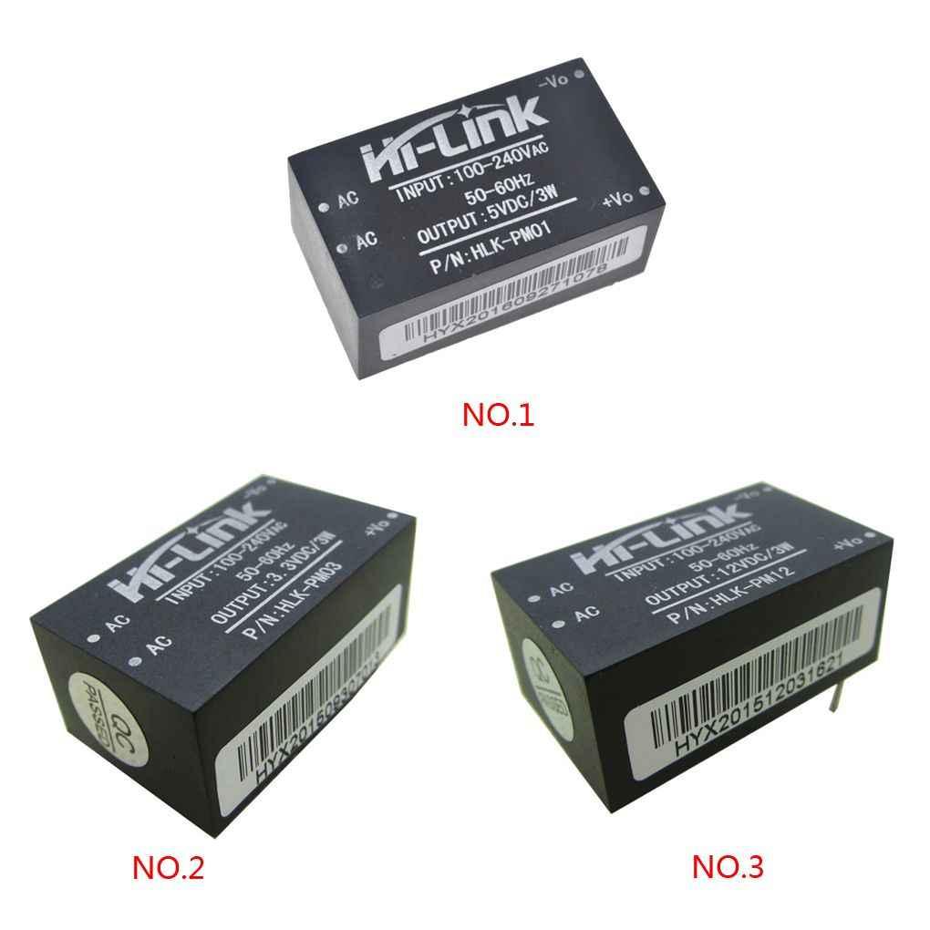 HLK-PM01 HLK-PM03 HLK-PM12 AC-DC 220V do 5 V/3.3 V/12 V Mini moduł zasilania inteligentny przełącznik gospodarstwa domowego moduł zasilania
