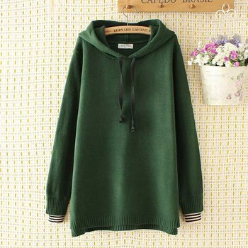 Knitted pullovers women Sweatshirts