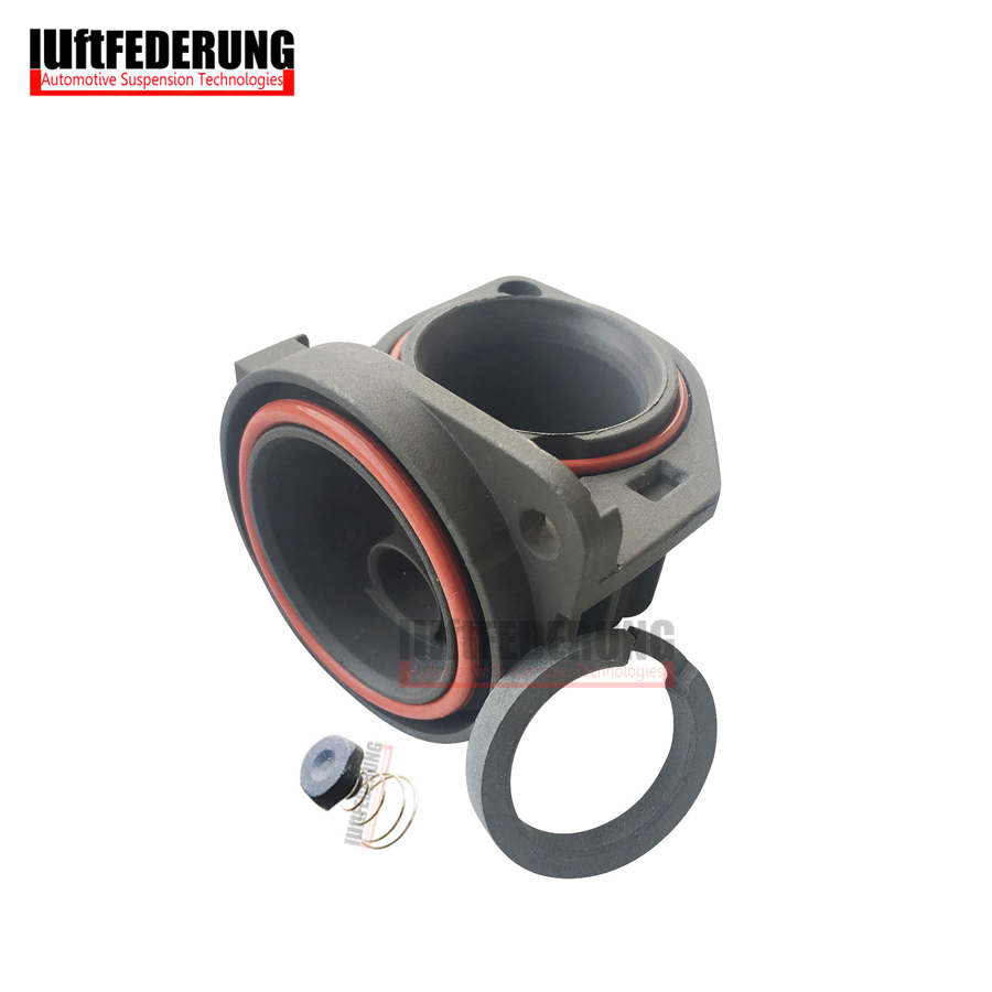 Luftfederung Air Suspension Cylinder With Rubber Valve Piston Ring For Audi A8 Mercedes W220 W211 W221 2203200104 4E0616007D
