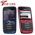 Бесплатная Доставка Nokia E63 QWERTY Keyboard2 МП камера Bluetooth Wi-Fi FM Разблокирована оригинал сочинять refuribished сотовый Телефон