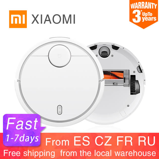US $254 78 20% OFF|2019 Original XIAOMI MIJIA Robot Vacuum Cleaner for Home  Automatic Sweeping Dust Sterilize Smart Planned WIFI App Remote Control-in
