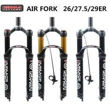 Велосипедная воздушная вилка 26 27,5 29 ER MTB горная подвесная вилка воздушная устойчивость амортизирующая линия для более SR