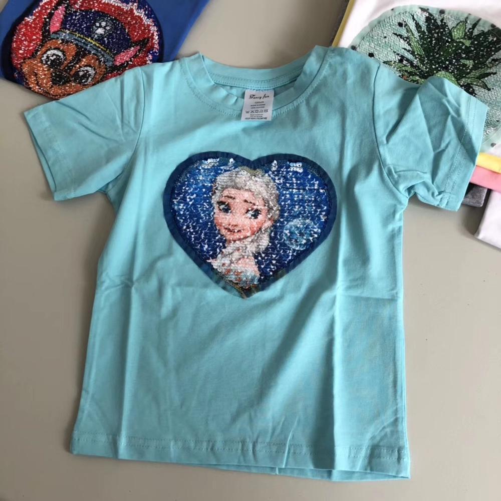 Frozen M/ädchen T-Shirts Und Shorts