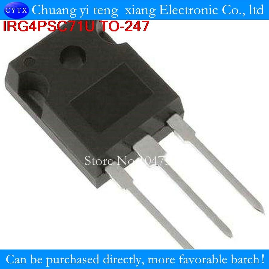 IRG4PSC71U G4PSC71U ИК-247 60A600V IGBT транзисторов для обеспечения качества to247 1 шт. Vces = 600 В Vce (на) тип. = 1,67 В Vge = 15 В, Ic = 60A)