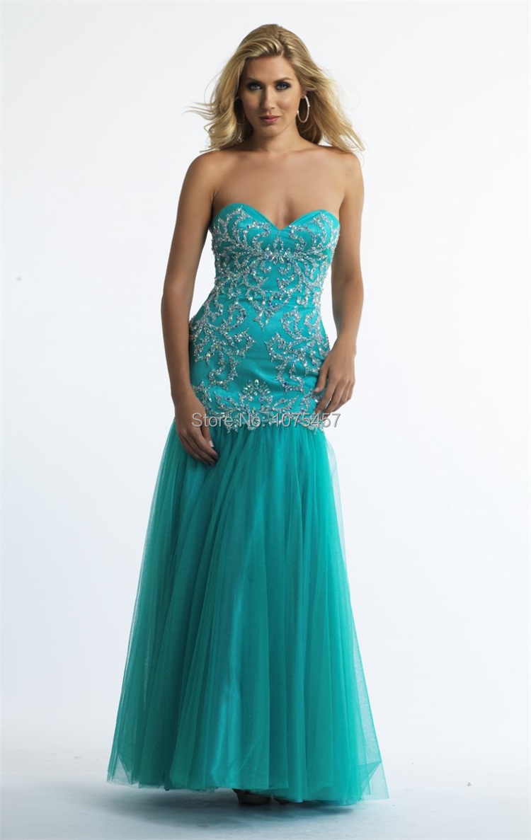 Compare Prices on Fitted Prom Dress Turquoise- Online Shopping/Buy ...