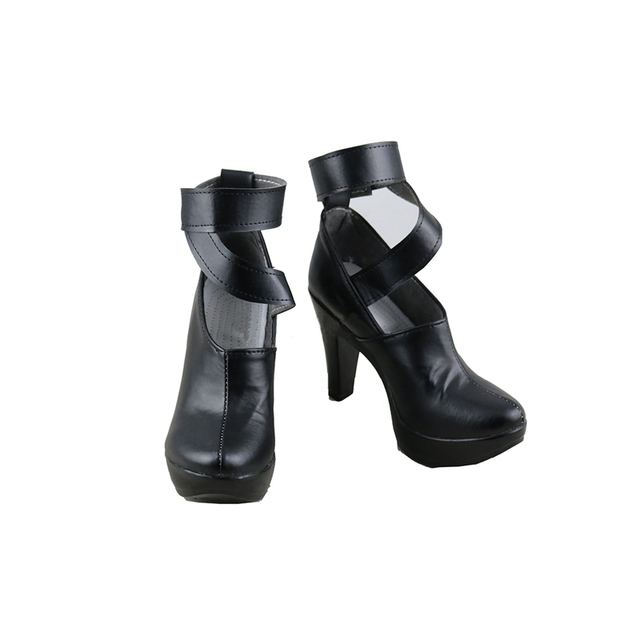 ROLECOS LOL KDA Eveylnn Cosplay Shoes LOL Evelynn Cosplay Boots for Women Cosplay Shoes K/DA Evelynn High-Heeled Shoes Boots  1