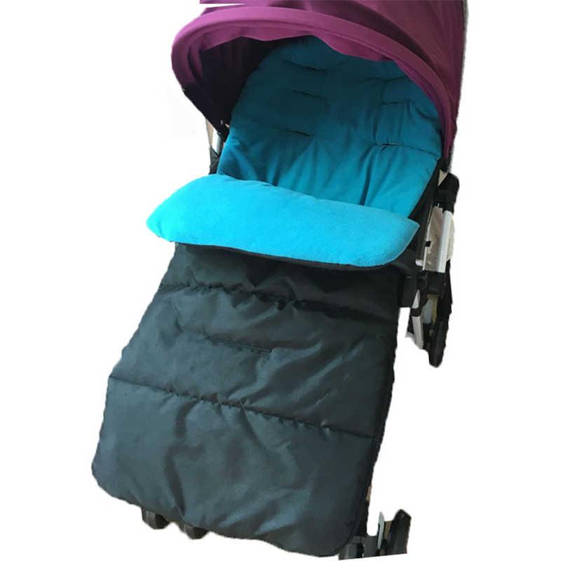 1 шт. Водонепроницаемая детская коляска спальный мешок осень для ребенка зима теплая коляска новорожденный мешок (5 цветов)