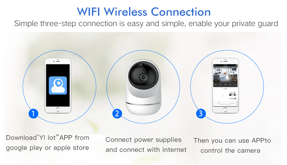 How To Connect Yi Home Camera To Wifi
