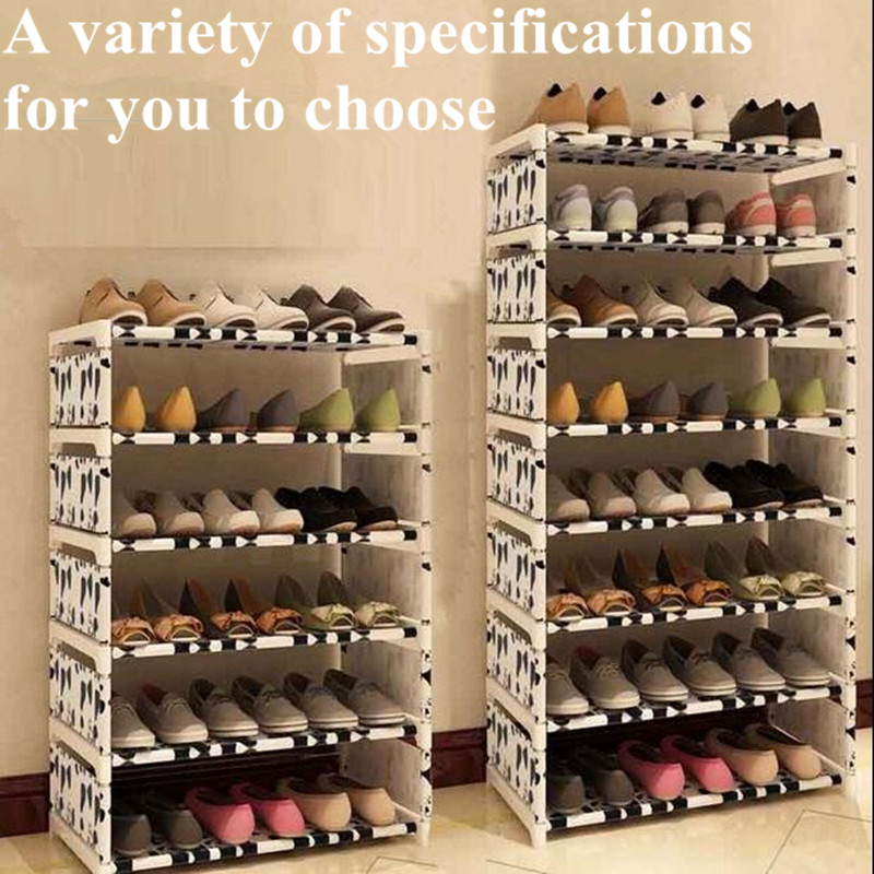 Newest!Shoes Rack 4/6/8 floors receive shoe ark 120 cm high Men's and women's dormitory bed bottom bed shoes shelf 50 ways to paint ceilings and floors