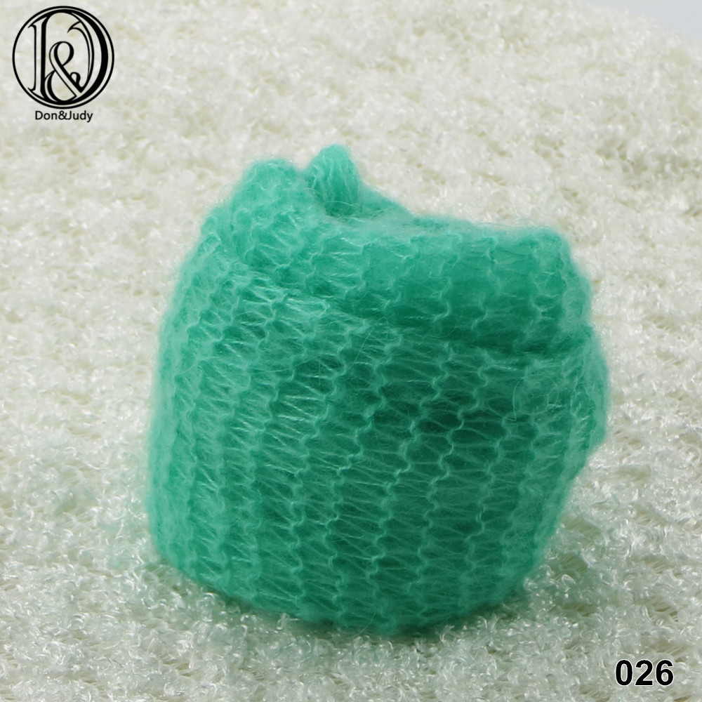 60x30cm Hand Knit Wraps Newborn Photography Wraps Baby Shower Gift  Newborn Props