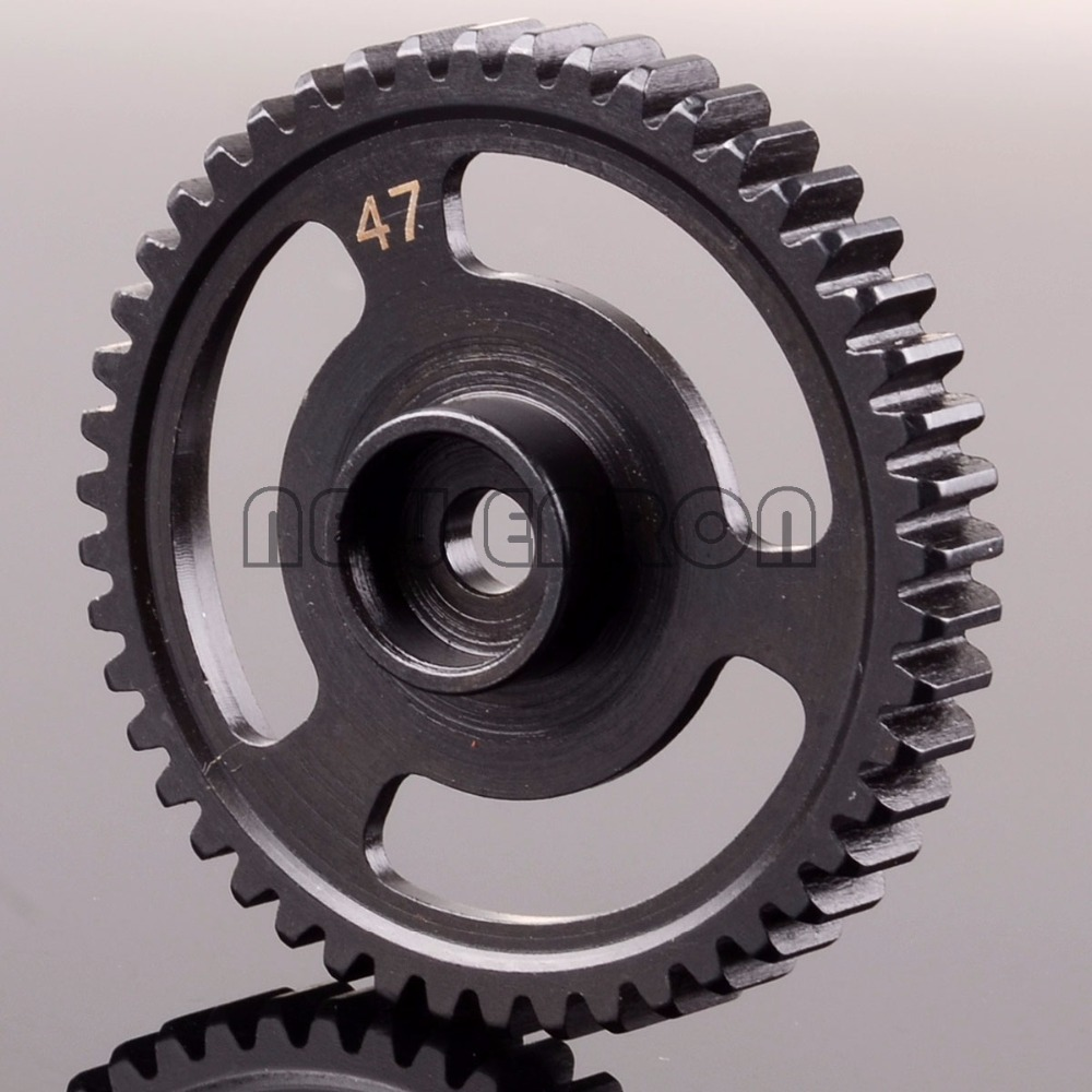 NEW ENRON 47T STEEL SPUR GEAR 47 TOOTH (1M) FOR RC HPI 76937 SAVAGE X 4.6 märklin katalog spur z